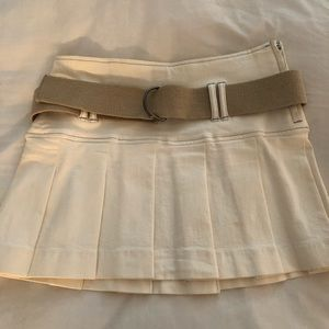 Theory Mini Pleated Skirt, sz4